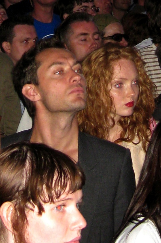 Jude Law Gets Some Radiohead With Lily Cole