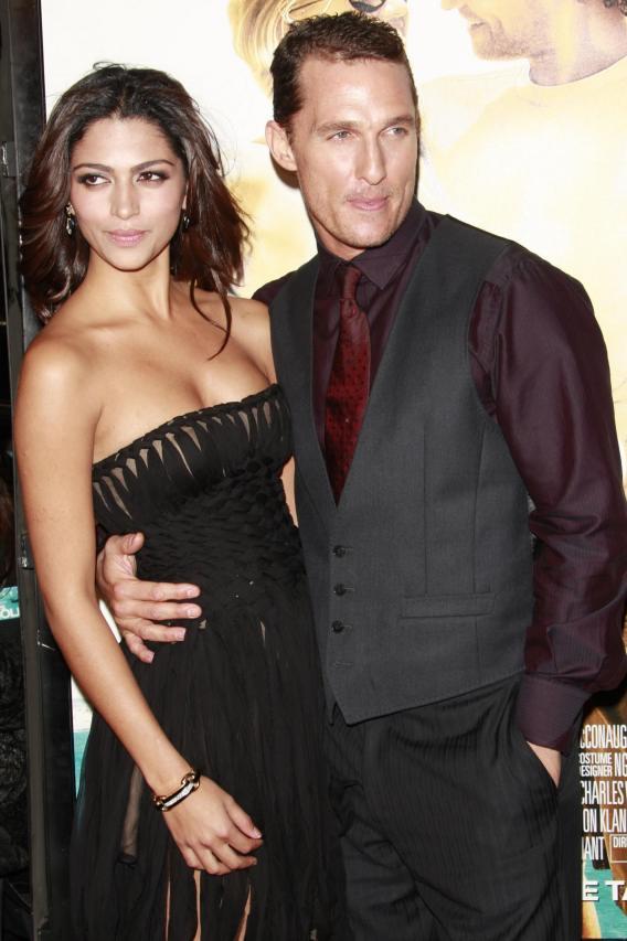 Matthew McConaughey: Dude, We Had a Baby!