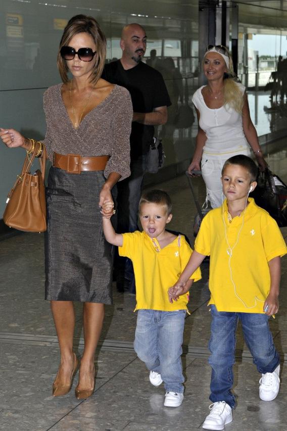 Victoria Beckham's Airport Emergency