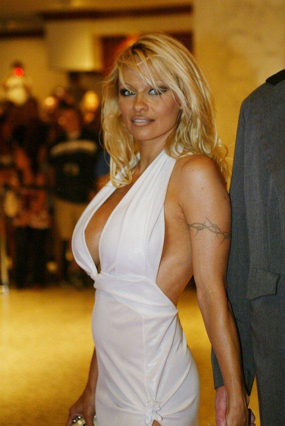 Pam Anderson Is an American from Implants to Toes