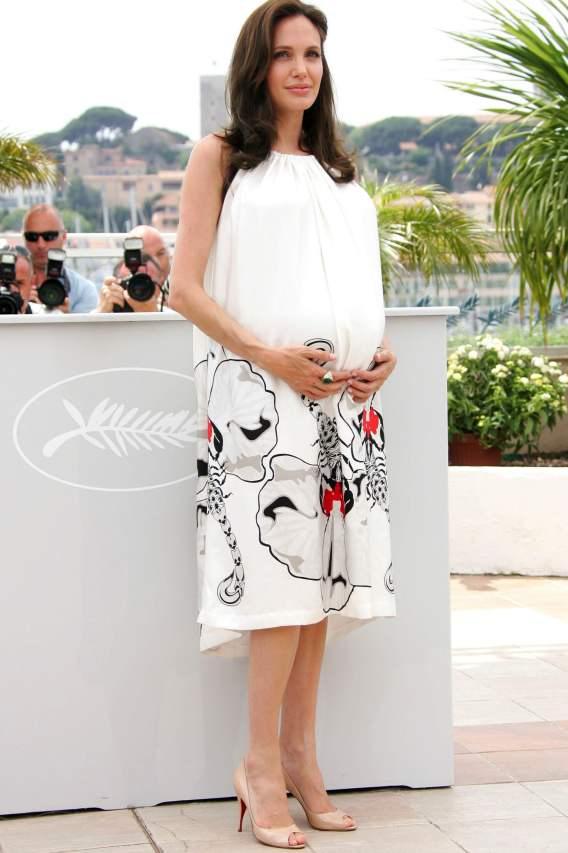 Angelina Jolie's Baby Bump From Start to Finish