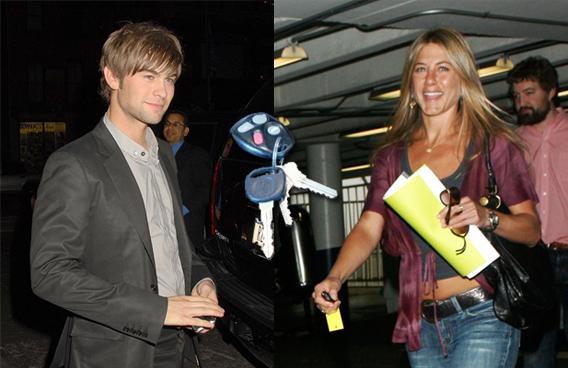 Chace Crawford Got Jen Aniston's Motor Running