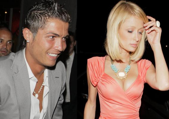 Cristiano Ronaldo Won't Let Paris Hilton Score