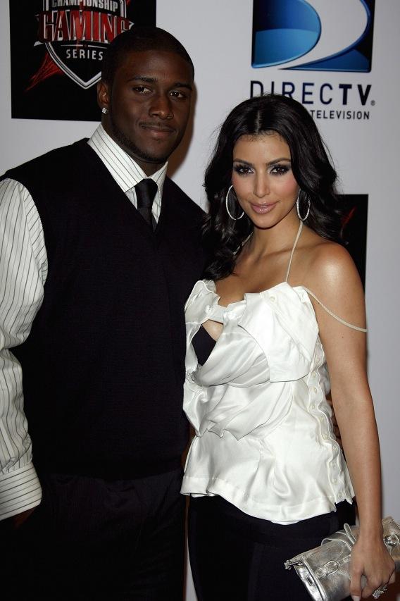 """Reggie Bush to Kim Kardashian: """"Drop Some Weight!"""""""