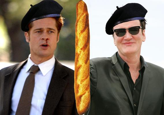 Quentin Tarantino Wants Brad Pitt to Be a 'Bastard'