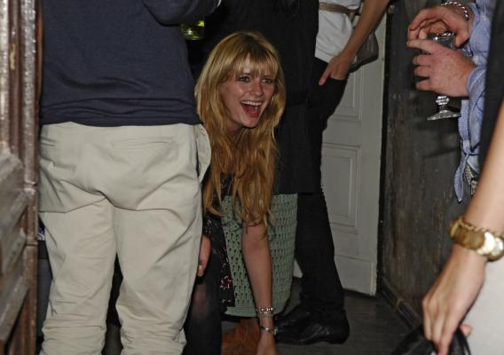 Mischa Barton Is Goal-Oriented Party Girl