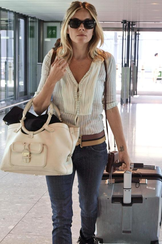 Newsflash!: Sienna Miller Keeps Her Shirt On!