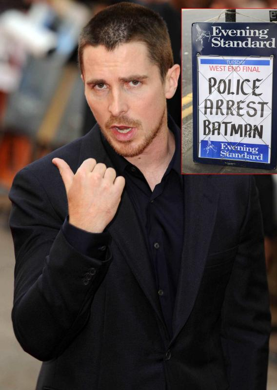 Christian Bale Released, Denies Allegations