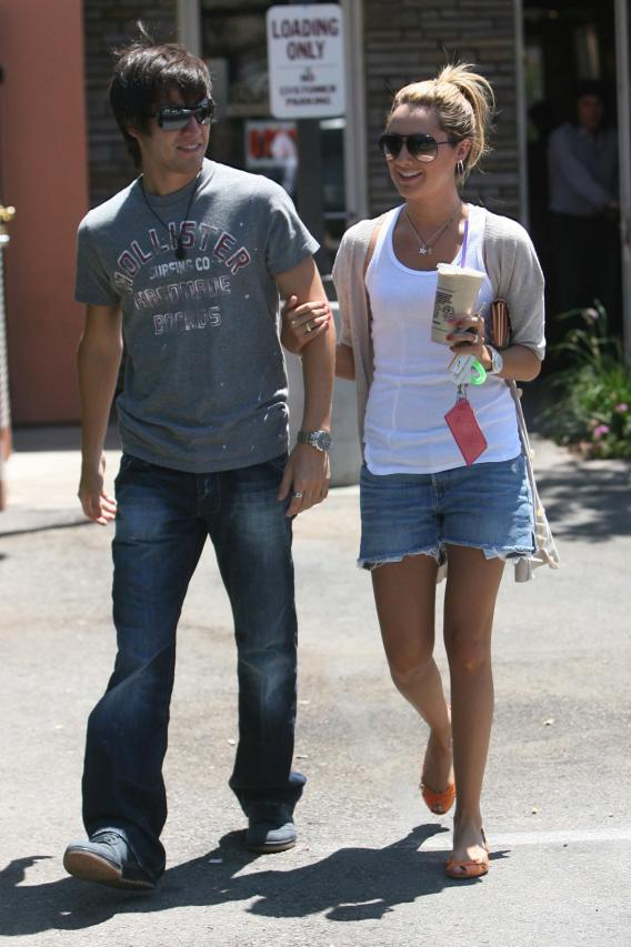 Ashely Tisdale and Jared Murillo: Coffee Cuties