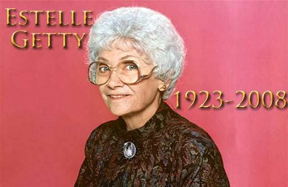 Estelle Getty R.I.P.
