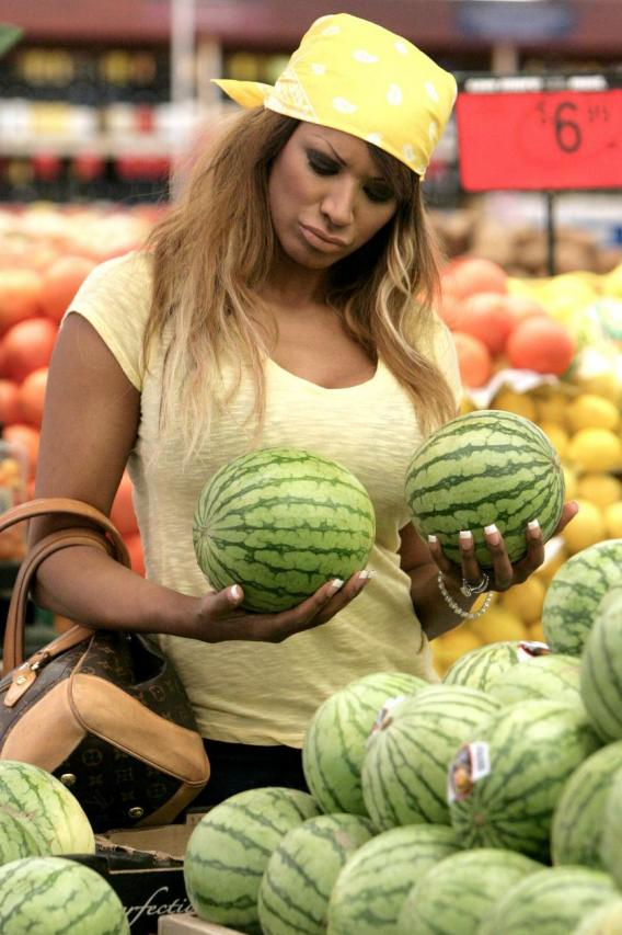 Can Traci Bingham's Melons Save Her Career?