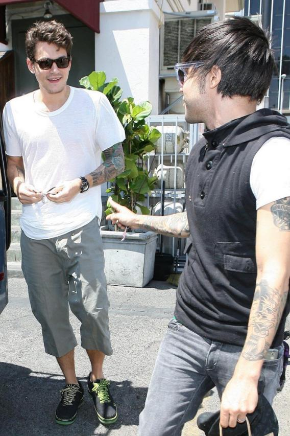 John Mayer and Pete Wentz: Lunch Buddies