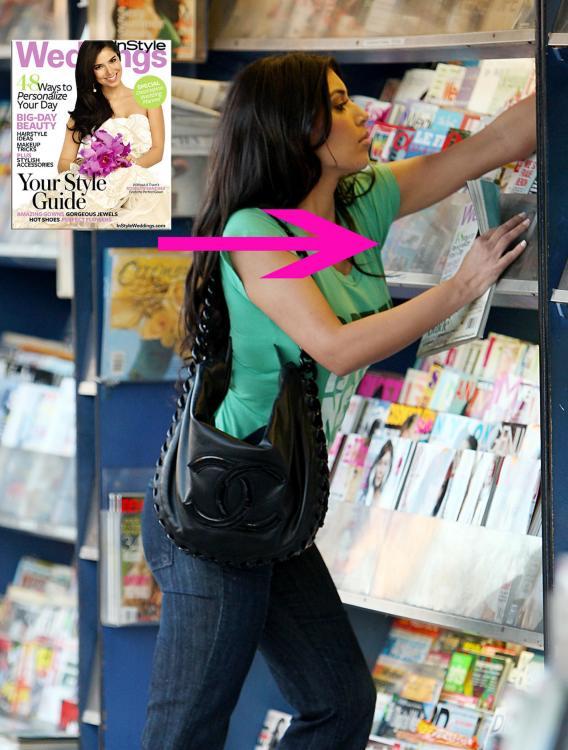 Kim Kardashian's Wedding-Mag Puzzler