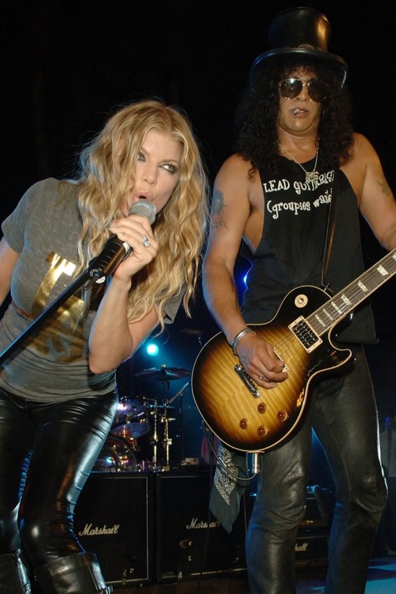 Fergie Is Classiest Act at Slash Party