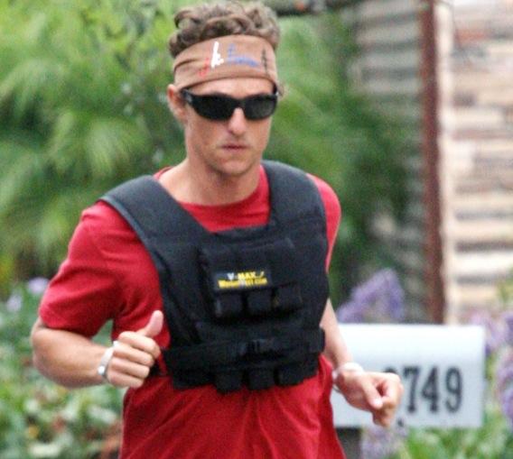 Matthew McConaughey Is Already Running Around