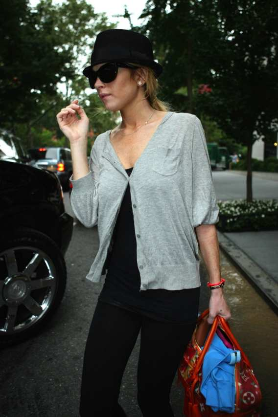 Lindsay Lohan: Not Run Over