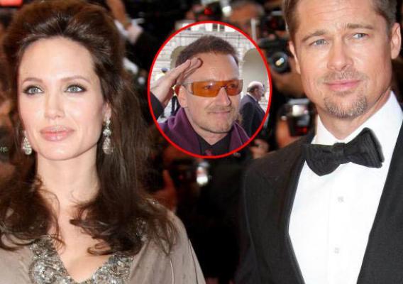 Bono to Play Godfather to Brangelina's Twins