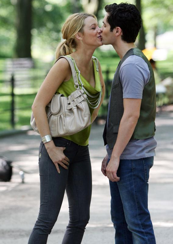 Blake Lively and Penn Badgley: Get a Room