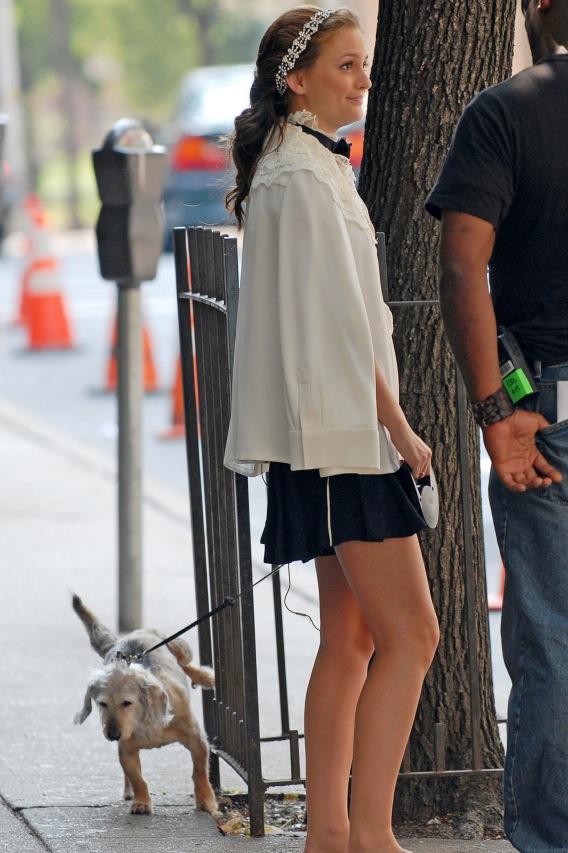 Leighton Meester: Puppy Pee Shy