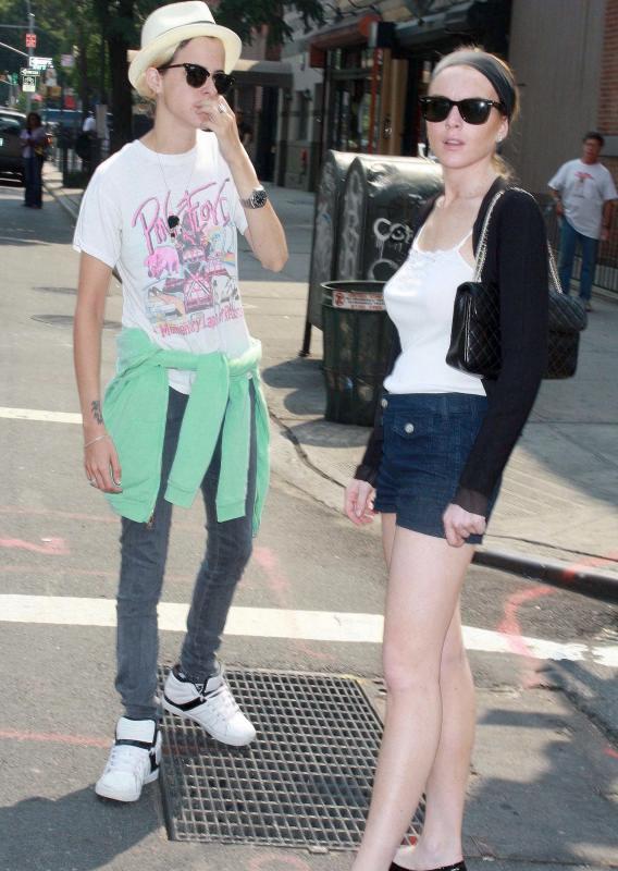 Lindsay Lohan and Samantha Ronson's New York Minute