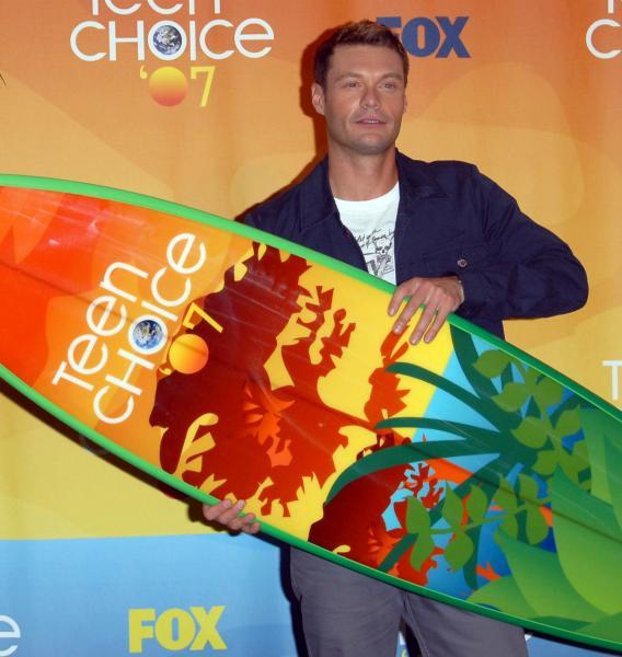 Ryan Seacrest Not to Shark's Taste