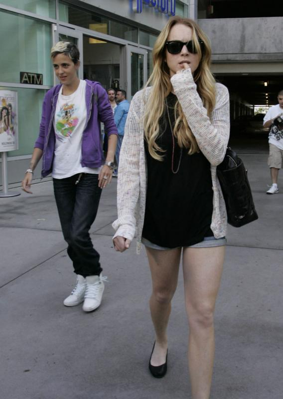 Samantha Ronson Is a Vision for Lindsay Lohan!