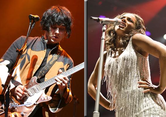 Alicia Keys and Jack White Bond-ing