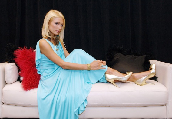 Paris Hilton Pushes Her Cheap Kicks