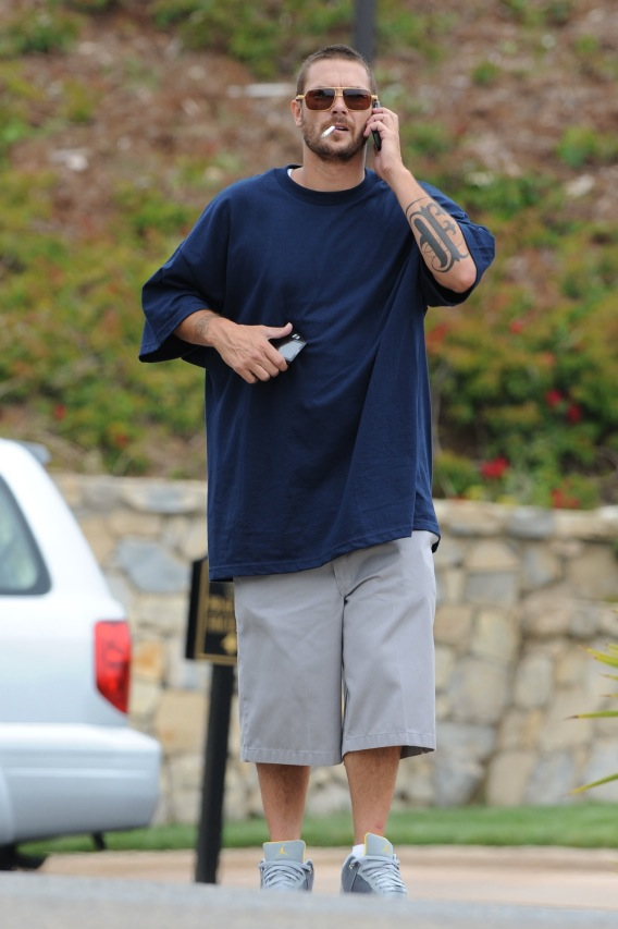 Kevin Federline Takes a Break From…?
