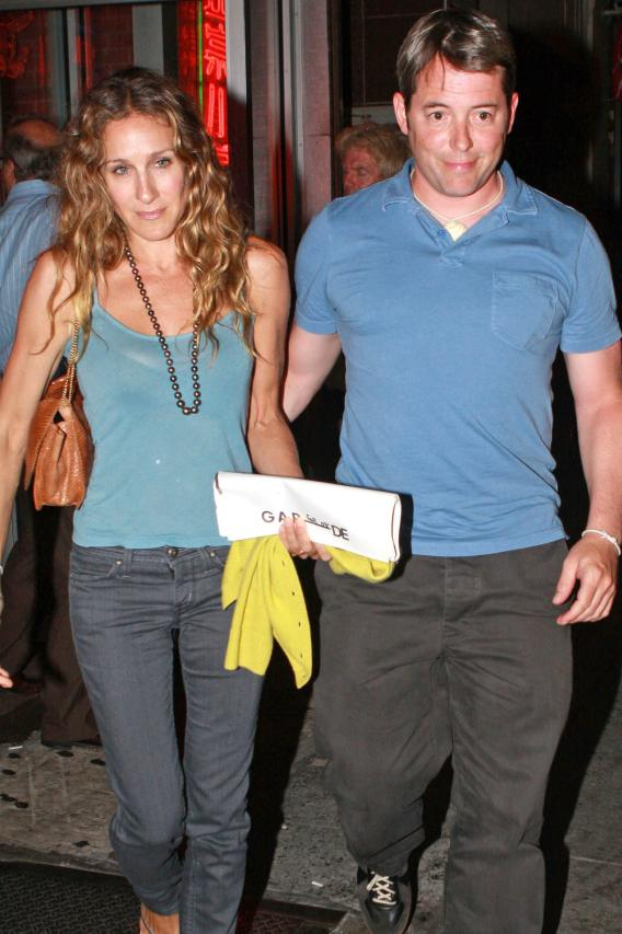Sarah Jessica Parker and Matthew Broderick: In Love?