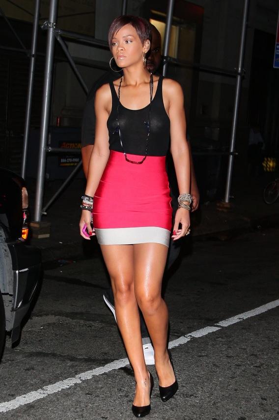 Rihanna Goes Sheer, Forgets Minor Detail