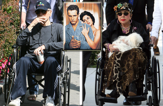 Elizabeth Taylor, Paul Newman: Sad Day for Legends