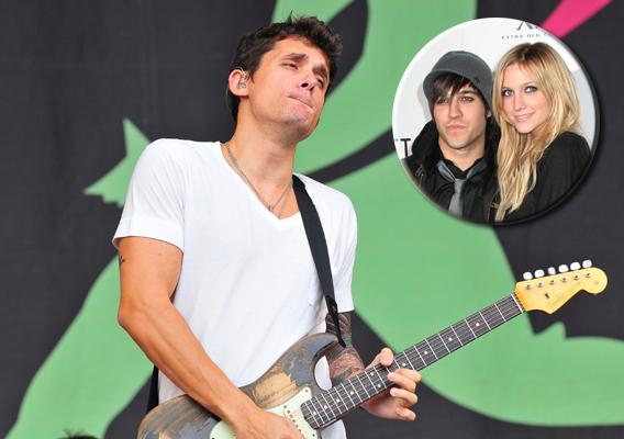 John Mayer: Godfather to Wentz-Simpson Baby?