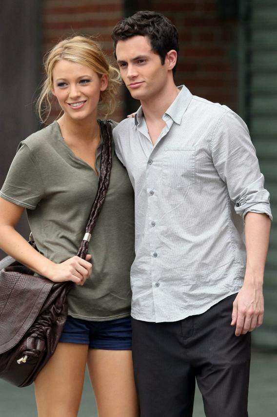 Where's Penn Badgley's Hand? Ask Blake Lively