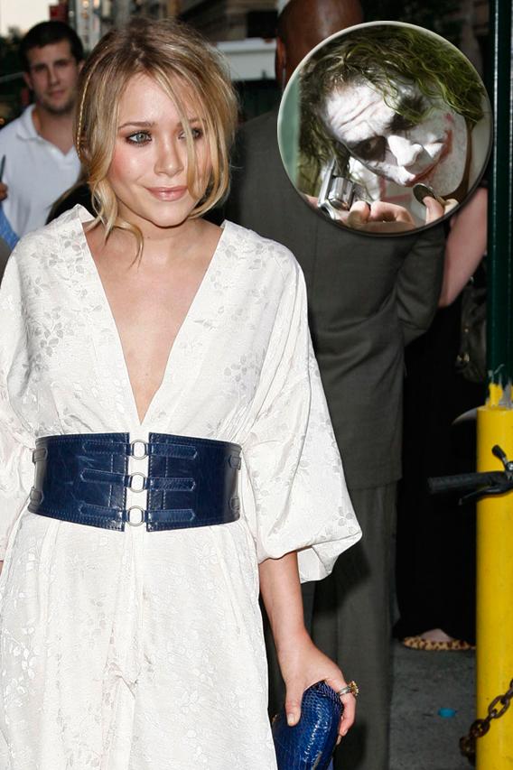 Mary-Kate Olsen Experiences a 'Dark Knight'