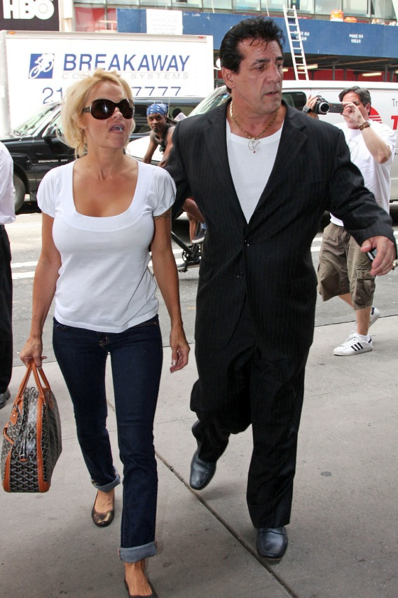 Pamela Anderson Steps Out With a Made Man