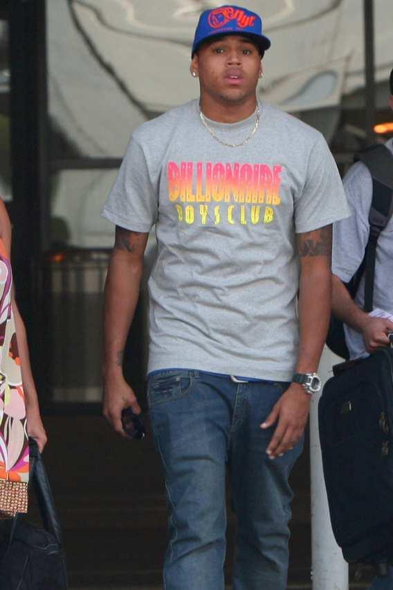 Chris Brown Doubles Pleasure, Doubles Bank Account