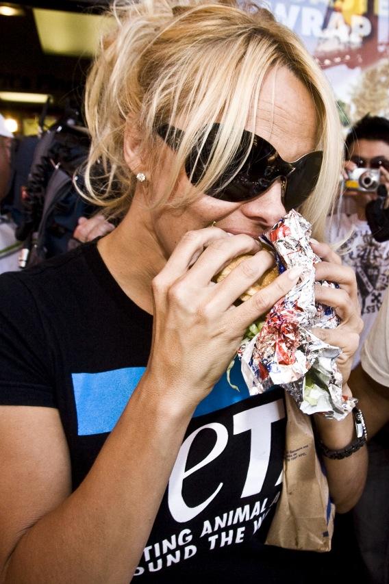 "Pam Anderson: ""Tastes Like Chicken!"""