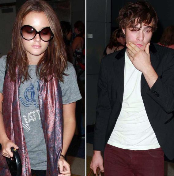 Leighton Meester Vs. Ed Westwick: Airport Style Challenge