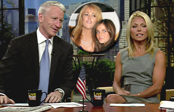 Celebrity Catfight: Anderson Cooper Vs. Dina Lohan