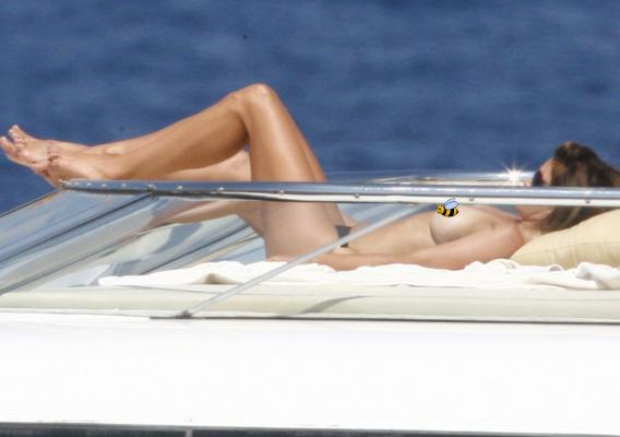Cindy Crawford Prefers Her Breasts Sunny-Side Up