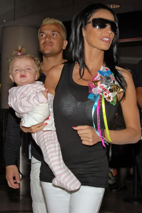 Katie Price's Baby Doesn't Need New Shoes