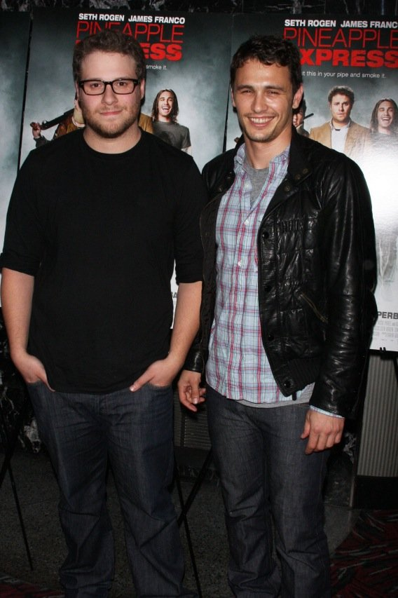 James Franco and Seth Rogen: Movie Buds