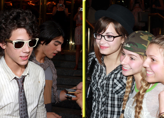 Demi Lovato and Jonas Brothers Love Their Fans