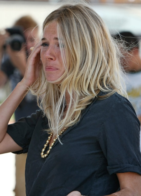 Sienna Miller's Bad Day at the Pump