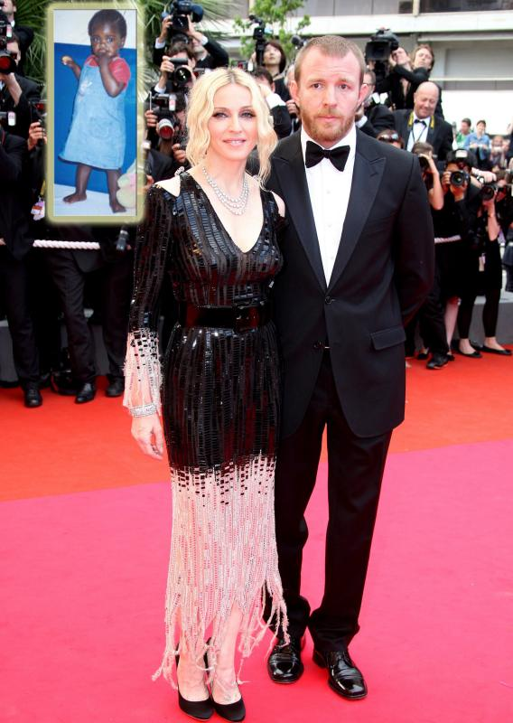Madonna and Guy Ritchie Adopt to Save the Marriage