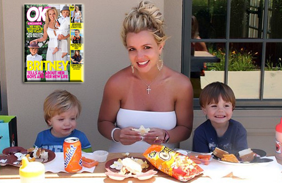 Britney Spears and Tiny Pimps Are 'OK!'