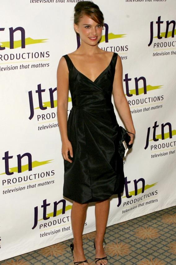 Natalie Portman's Cap Gets Another Feather