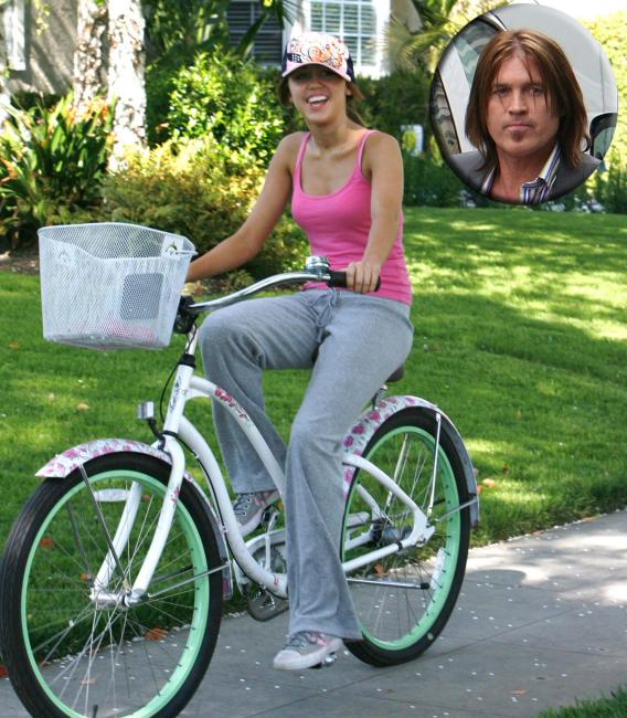 Miley Cyrus Never Really Rides Alone