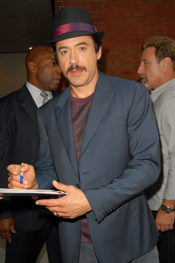 Robert Downey Jr. Visits BET, Not Lynched